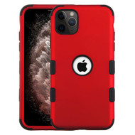 Military Grade Certified TUFF Hybrid Armor Case for iPhone 11 Pro Max - Red 006