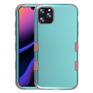 Military Grade Certified TUFF Hybrid Armor Case for iPhone 11 Pro Max - Aquamarine