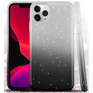 Full Glitter Hybrid Protective Case for iPhone 11 Pro - Gradient Black