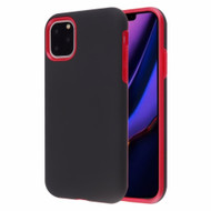 Fuse Slim Armor Hybrid Case for iPhone 11 Pro Max - Black Red