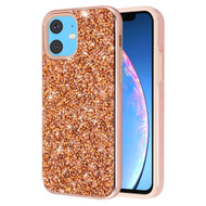 Desire Mosaic Crystal Hybrid Case for iPhone 11 - Rose Gold