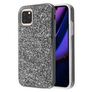 Desire Mosaic Crystal Hybrid Case for iPhone 11 Pro Max - Black