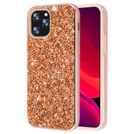 Desire Mosaic Crystal Hybrid Case for iPhone 11 Pro Max - Rose Gold