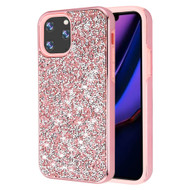 Desire Mosaic Crystal Hybrid Case for iPhone 11 Pro Max - Pink