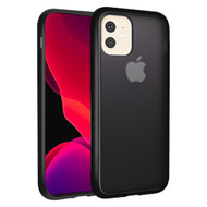 Frost Semi Transparent Hybrid Case for iPhone 11 Pro - Black