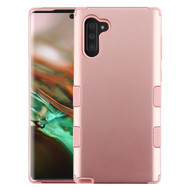 Military Grade Certified TUFF Hybrid Armor Case for Samsung Galaxy Note 10 - Rose Gold