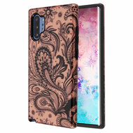 Fuse Slim Armor Hybrid Case for Samsung Galaxy Note 10 Plus - Phoenix Flower Rose Gold