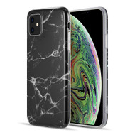 Marble TPU Case for iPhone 11 - Black