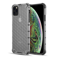 Honeycomb Transparent Case for iPhone 11 Pro Max - Smoke