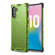 *Sale* Honeycomb Transparent Case for Samsung Galaxy Note 10 - Green