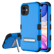 Military Grade Certified TUFF Hybrid Armor Case with Kickstand for iPhone 11 - Blue