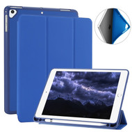 *SALE* Smart Folio Case with Built-in Apple Pencil Storage for iPad 9.7 (2018/2017) / iPad Air 2 / iPad Air - Blue