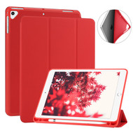 *SALE* Smart Folio Case with Built-in Apple Pencil Storage for iPad 9.7 (2018/2017) / iPad Air 2 / iPad Air - Red