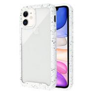 Tough Fusion-X 2-Piece Hybrid Armor Case for iPhone 11 - Splash White