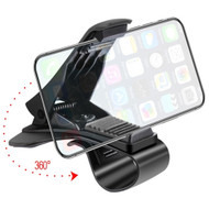 Car Dashboard Clip Mobile Phone Holder - Black