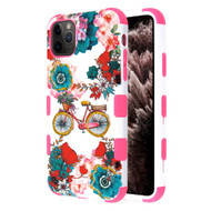 Military Grade Certified TUFF Hybrid Armor Case for iPhone 11 Pro Max - Bicycle Garden