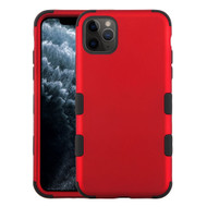 Military Grade Certified TUFF Hybrid Armor Case for iPhone 11 Pro - Red 006