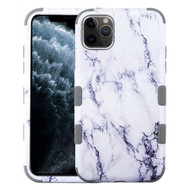Military Grade Certified TUFF Hybrid Armor Case for iPhone 11 Pro - Marble White
