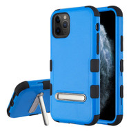Military Grade Certified TUFF Hybrid Armor Case with Kickstand for iPhone 11 Pro - Blue
