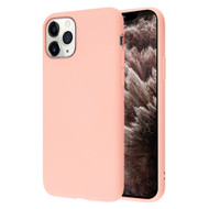 Liquid Silicone Protective Case for iPhone 11 Pro Max - Pink