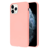 Liquid Silicone Protective Case for iPhone 11 Pro - Pink