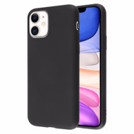 Liquid Silicone Protective Case for iPhone 11 - Black