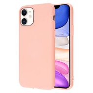 Liquid Silicone Protective Case for iPhone 11 - Pink