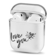 Crystal Clarity Protective Case for Apple AirPods - Love You