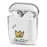 Crystal Clarity Protective Case for Apple AirPods - Queen