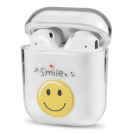Crystal Clarity Protective Case for Apple AirPods - Happy Face