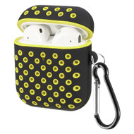 Perforated Hard Shell Protective Case for Apple AirPods - Yellow