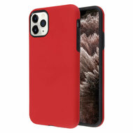 Fuse Slim Armor Hybrid Case for iPhone 11 Pro Max - Red