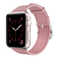Genuine Leather Strap Band for Apple Watch 40mm / 38mm - Pink