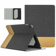 Smart Folio Leather Hybrid Case with Auto Sleep / Wake for iPad (2018/2017) / iPad Air - Grey Brown