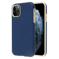 Fuse Slim Armor Hybrid Case for iPhone 11 Pro - Navy Blue Gold