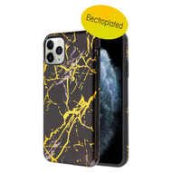 Fuse Slim Armor Hybrid Case for iPhone 11 Pro - Marble Black Gold