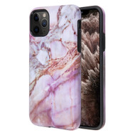 Fuse Slim Armor Hybrid Case for iPhone 11 Pro Max - Marble Purple