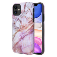 Fuse Slim Armor Hybrid Case for iPhone 11 - Marble Purple