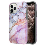 Fuse Slim Armor Hybrid Case for iPhone 11 Pro Max - Marble Purple 007