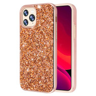 Desire Mosaic Crystal Hybrid Case for iPhone 11 Pro - Rose Gold