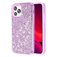 Desire Mosaic Crystal Hybrid Case for iPhone 11 Pro - Purple