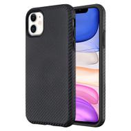 Carbon Fiber Hybrid Case for iPhone 11 - Black 661
