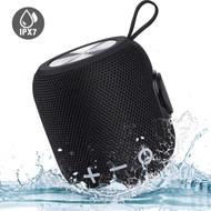 IPX7 Waterproof Bluetooth V4.2 Wireless Speaker - Black