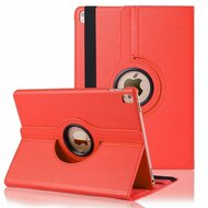 *FINAL SALE* 360 Degree Rotating Leather Hybrid Case for iPad Air 2 - Red