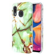 *Sale* TUFF Subs Hybrid Armor Case for Samsung Galaxy A20 - Marble Green