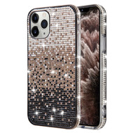 Sparks Mini Crystal Case for iPhone 11 Pro Max - Gradient Black