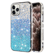 Sparks Mini Crystal Case for iPhone 11 Pro Max - Gradient Blue