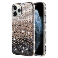 Sparks Mini Crystal Case for iPhone 11 - Gradient Black