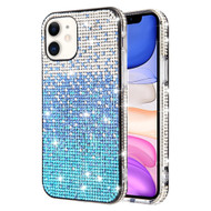 Sparks Mini Crystal Case for iPhone 11 - Gradient Blue