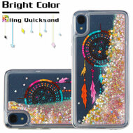 *SALE* Quicksand Glitter Transparent Case for Motorola Moto E6 - Dreamcatcher